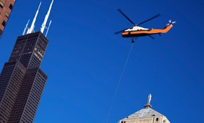 Construction Helicopters and Sling-line Lifting in Bellaire, TX!